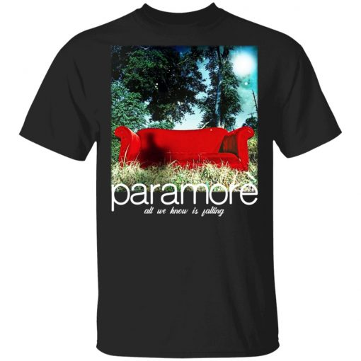 Paramore All We Know Is Falling T-Shirts, Hoodies, Long Sleeve