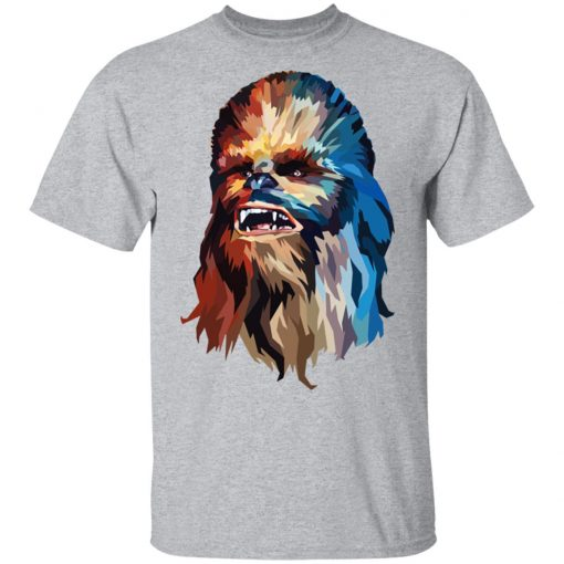 Star Wars Chewbacca Art Graphic T-Shirts, Hoodies, Long Sleeve