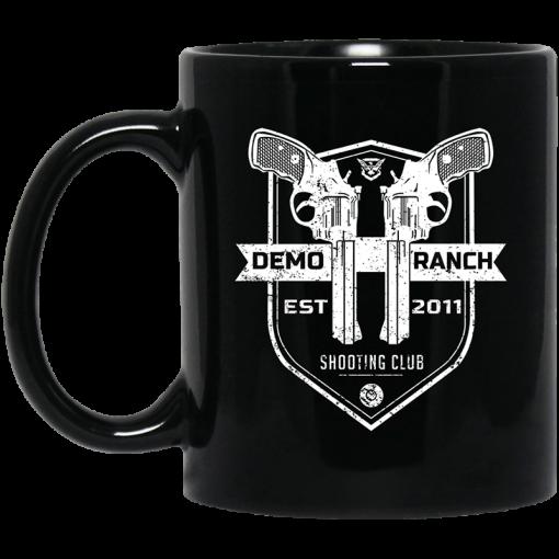 Demolition Ranch Demo Ranch Shooting Club Pocket Mug