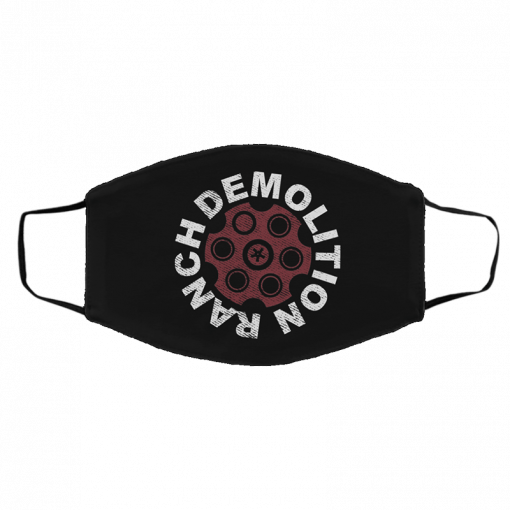Demolition Ranch Red Hot Demo Face Mask
