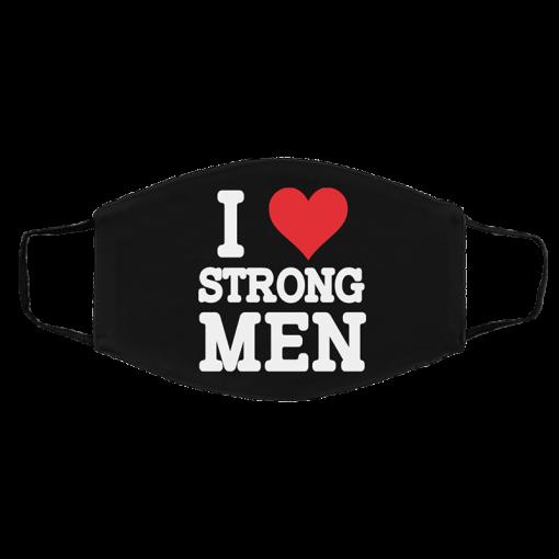 Robert Oberst I Love Strongmen Face Mask