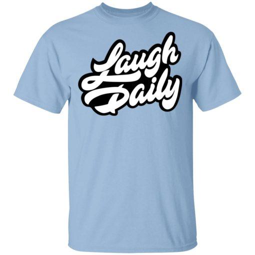 JSTU Laugh Daily Cotton Candy T-Shirts, Hoodies, Long Sleeve