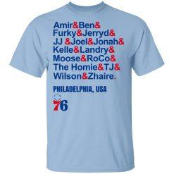 Amir & Ben & Furky & Jerryd Philadelphia USA 76 T-Shirts, Hoodies, Long Sleeve