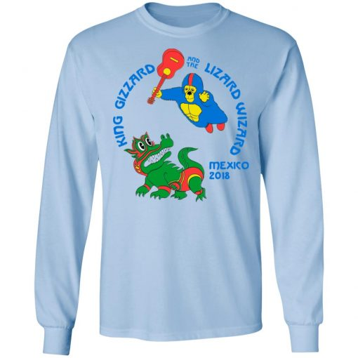 King Gizzard And The Lizard Wizard Mexico 2018 T-Shirts, Hoodies, Long Sleeve