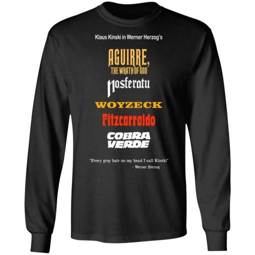 Aguirre The Wrath Of God Nosferatu Woyzeck Fitzcarraldo Cobra Verde T-Shirts, Hoodies, Long Sleeve