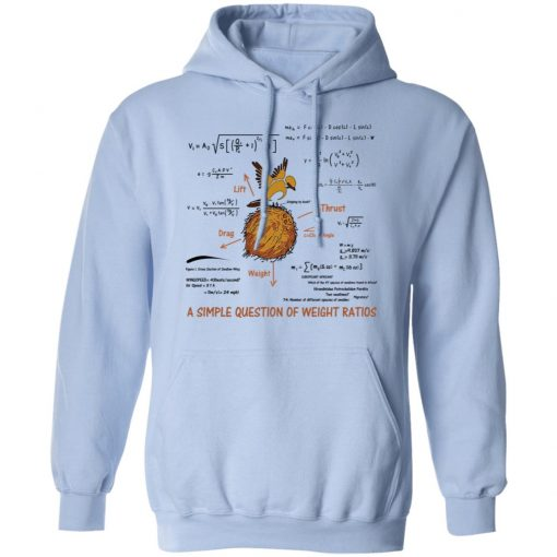 A Simple Question Of Weight Ratios Funny Math Teacher T-Shirts, Hoodies, Long Sleeve
