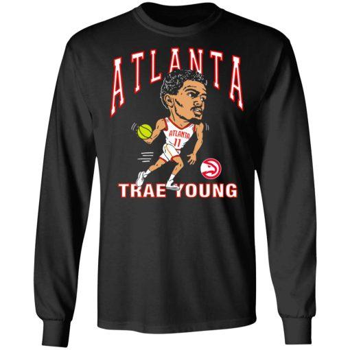 Atlanta Trae Young Hawks Caricature T-Shirts, Hoodies, Long Sleeve