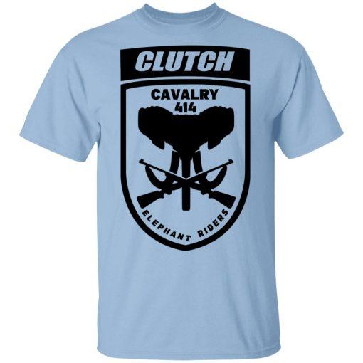Clutch Elephant Riders Cavalry 414 T-Shirts, Hoodies, Long Sleeve