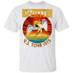 Led Zeppelin US Tour 1975 T-Shirts, Hoodies, Long Sleeve