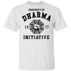 Property Of Dharma 1977 Initiative T-Shirts, Hoodies, Long Sleeve