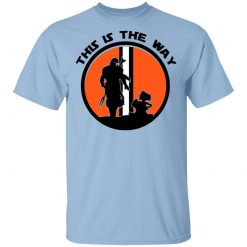 This Is The Way The Mandalorian Silhouette Star Wars T-Shirts, Hoodies, Long Sleeve