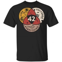 Science 42 Angel Number Life Universe Everything Number 42 T-Shirts, Hoodies, Long Sleeve
