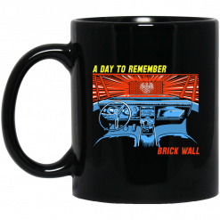 A Day To Remember Brick Wall Mug