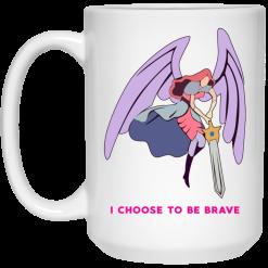 I Choose To Be Brave Queen Angella Mug