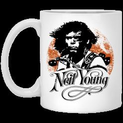 Neil Young Canadian Rocker Mug