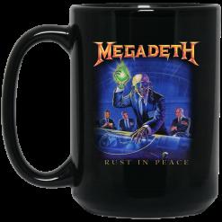 Megadeth Rust In Peace Mug