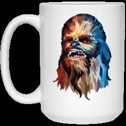 Star Wars Chewbacca Art Graphic Mug