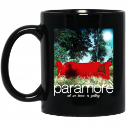 Paramore All We Know Is Falling Mug