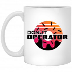 Donut Operator Logo Mug