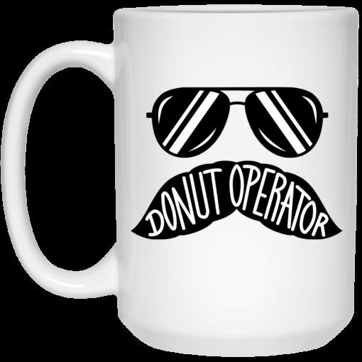 Donut Operator Stache Mug