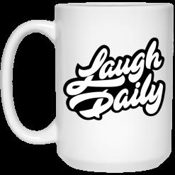 JSTU Laugh Daily Cotton Candy Mug