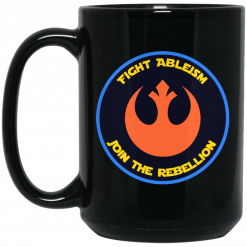 Fight Ableism Join The Rebellion Mug