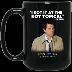 I Got It At The Hot Topical Castiel Supernatural Join The Hunt Mug