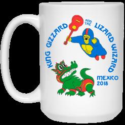 King Gizzard And The Lizard Wizard Mexico 2018 Mug