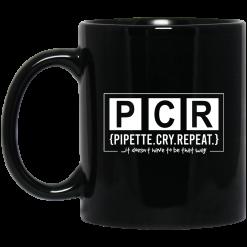PCR Pipette Cry Repeat Mug