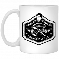 Tavarish Wrench Every Day Mug
