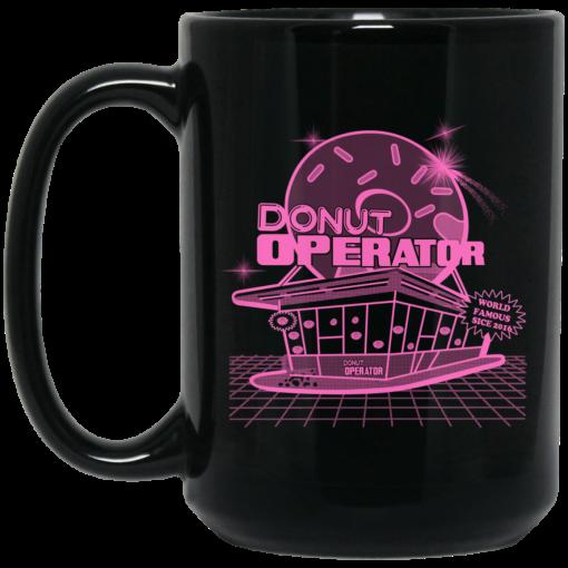Donut Operator Retro Shoppe Mug