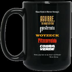 Aguirre The Wrath Of God Nosferatu Woyzeck Fitzcarraldo Cobra Verde Mug