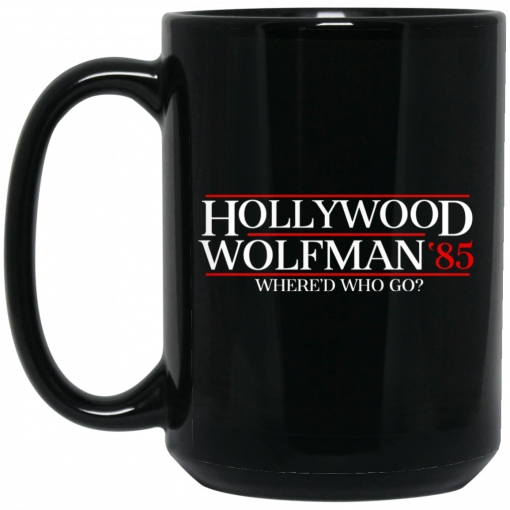 Danger Zone Hollywood Wolfman 85? Where'D Who Go Mug