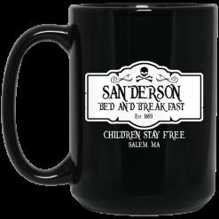 Sanderson Bed And Breakfast Est 1963 Children Stay Free Mug