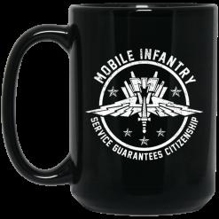 Mobile Infantry Service Guarantees Citizenship Mug