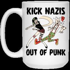 Kick Nazis Out Of Punk Mug