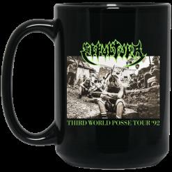 Sepultura Third World Posse Tour 92 Mug