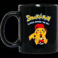 Smokemon Gotta Smoke 'Em All Mug