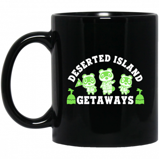 Animal Crossing Deserted Island Getaways Mug