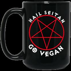 Hail Seitan Go Vegan Mug