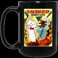 Seven Zero Seven Defender Of Justice Mystic Messenger Anime Animation Cartoon Movies Mug
