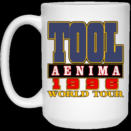 Tool Aenima 1996 World Tour Mug