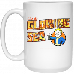Visit The Glowing Sea The Commonwealth Department Of Tourism Mug