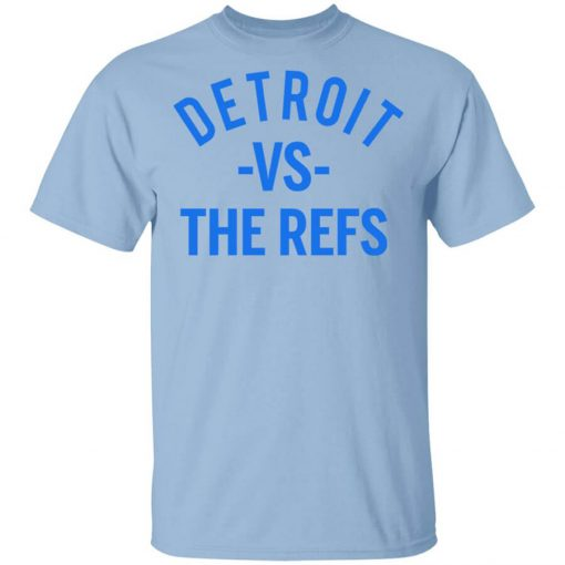 Detroit Vs The Refs T-Shirts, Hoodies, Long Sleeve