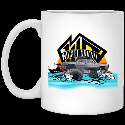 Whistlin Diesel Coast Guard Mug