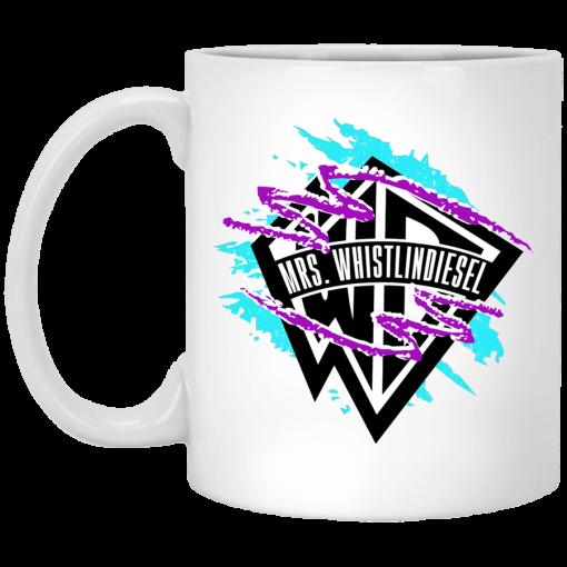Whistlin Diesel Mrs. WD Logo Mug