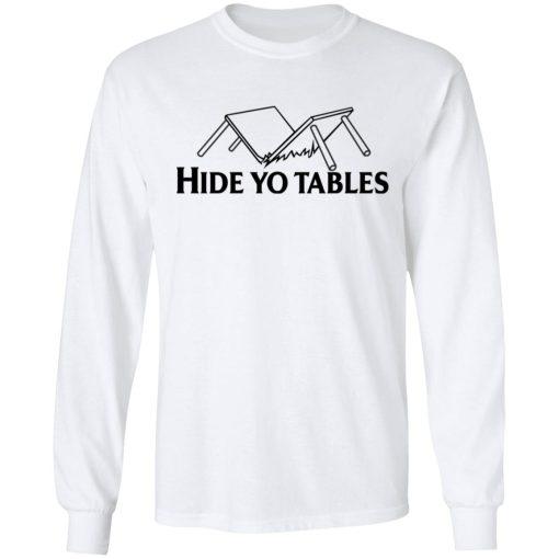 Kentucky Ballistics Hide Yo Tables T-Shirts, Hoodies, Long Sleeve
