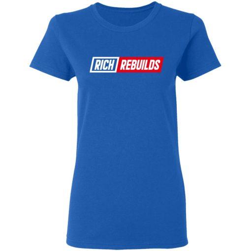 Rich Rebuilds Logo T-Shirts, Hoodies, Long Sleeve