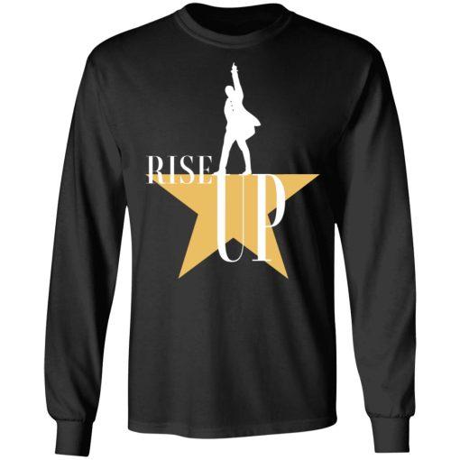 Rise Up Hamilton The Musical T-Shirts, Hoodies, Long Sleeve