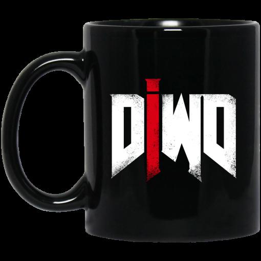 Do It with Dan Doom Logo Mug